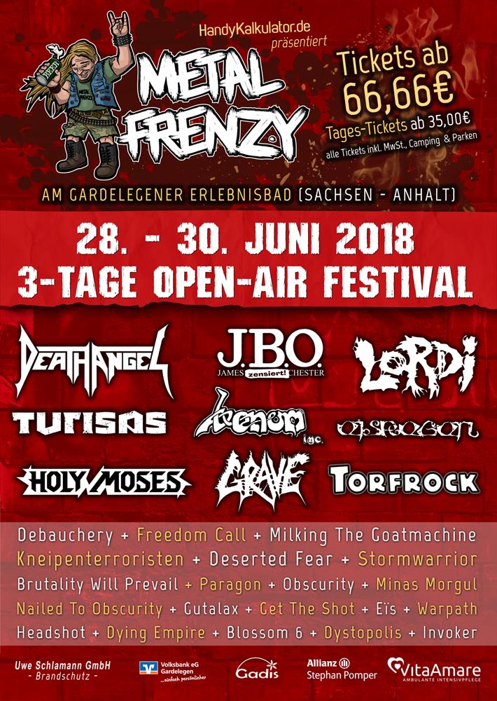 2018 Metal Frenzy Open Air