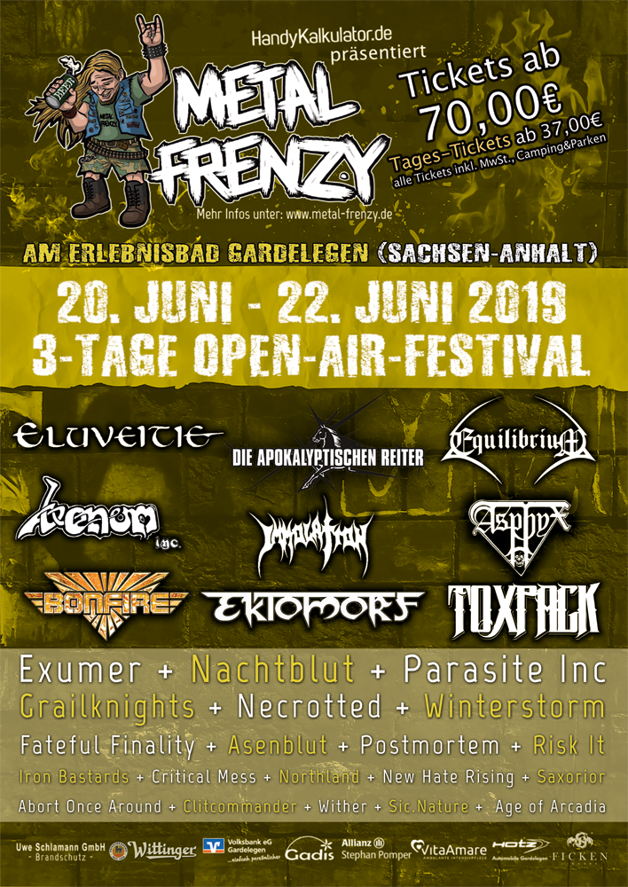 2019 Metal Frenzy Open Air