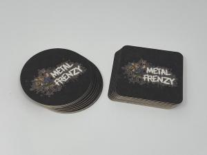 Bierdeckel-Set Metal Frenzy Open Air - ECKIG