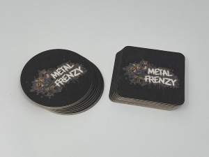Bierdeckel-Set Metal Frenzy Open Air - MIXED