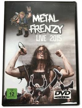 DVD Metal Frenzy LIVE 2015