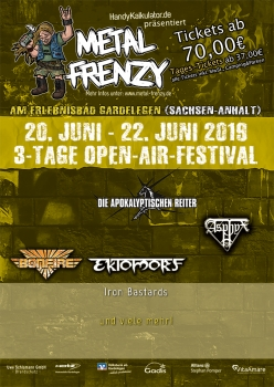 Tagesticket Samstag Metal Frenzy Open Air 2019