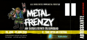 3-Tage-Festivalticket Metal Frenzy Open Air 2019