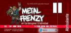 Tages-Ticket Metal-Frenzy 2018 Freitag, 29.06.2018