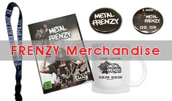 Metal Frenzy Merchandise kaufen
